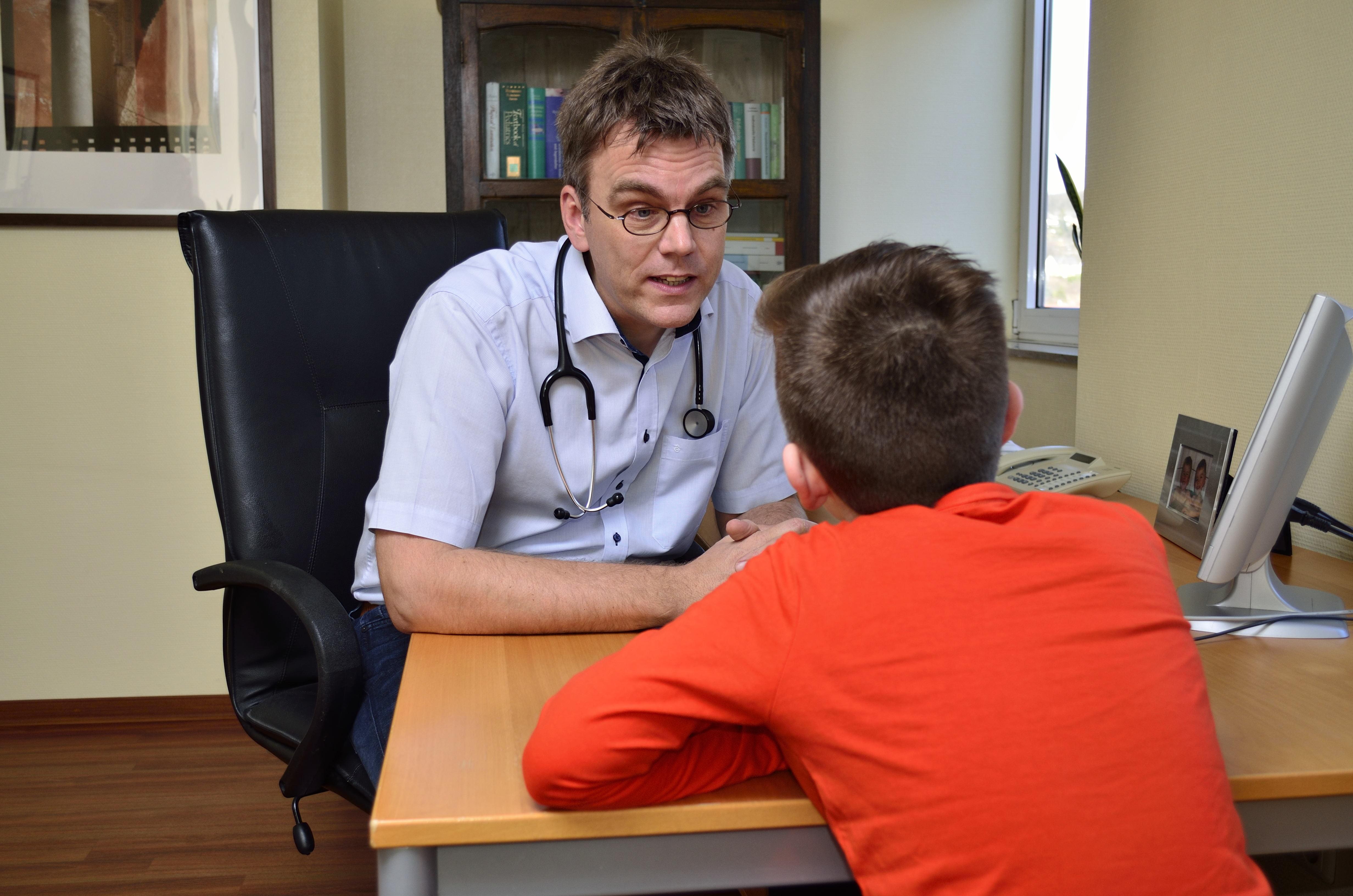 Medizinische Beratung für Jugendliche