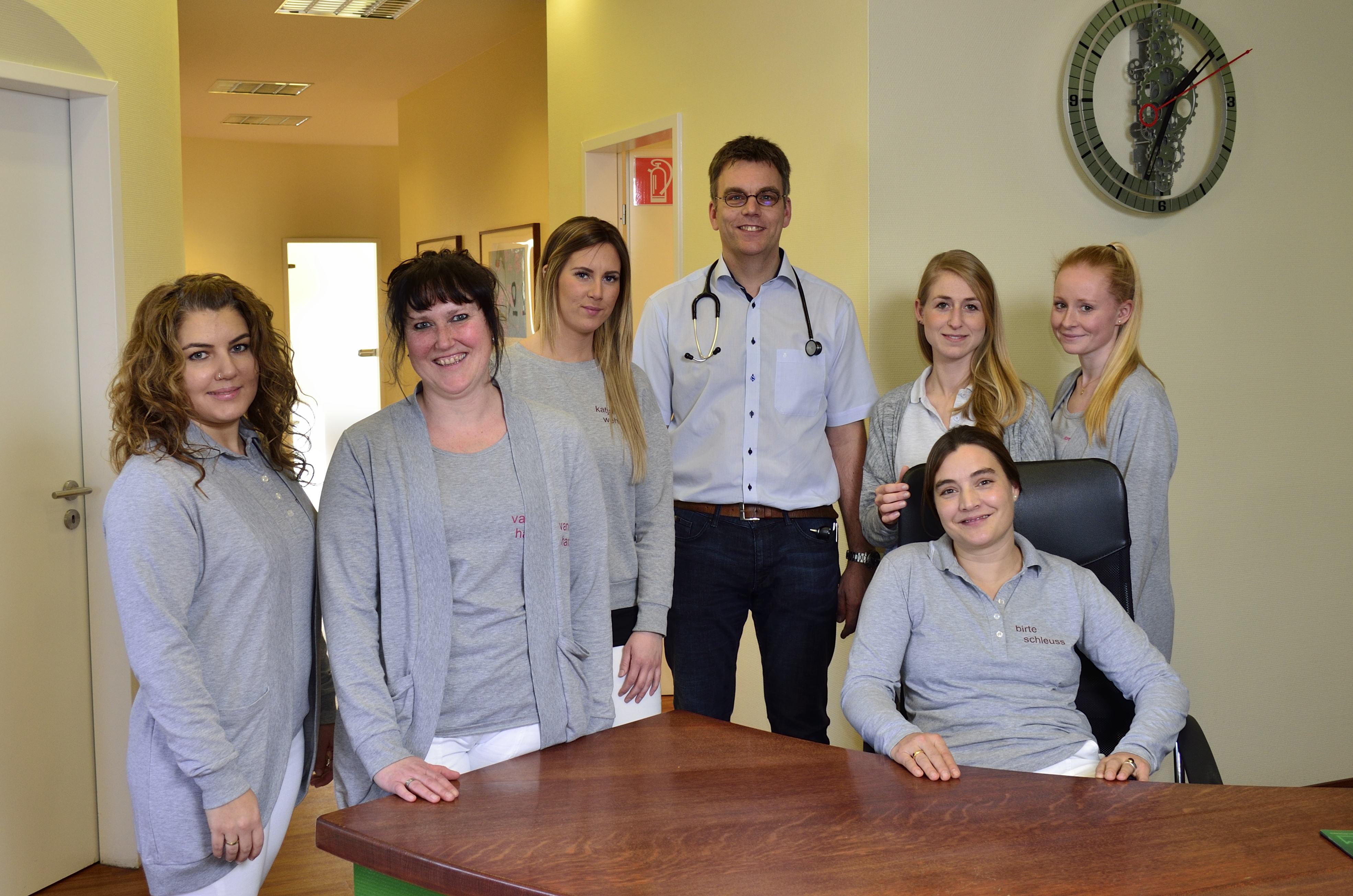 Team der Kinderarzt Praxis Dr. Schleuss in Hagen